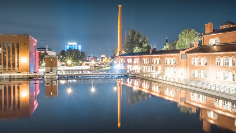 Tampere Region is known of its long industrial heritage and as a center of technology, often going in the forefront of development. Rapid Tampere collaboration accelerator is yet another example enabling the continuum of innovations. Photo: Laura Vanzo. (Photo: Business Wire)