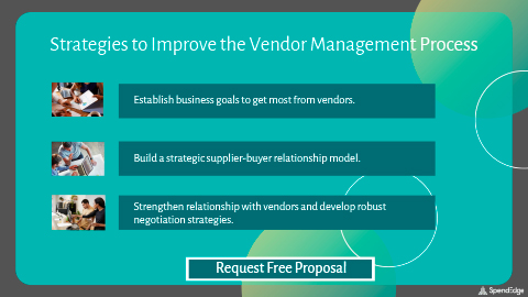 Strategies to Improve the Vendor Management Process.