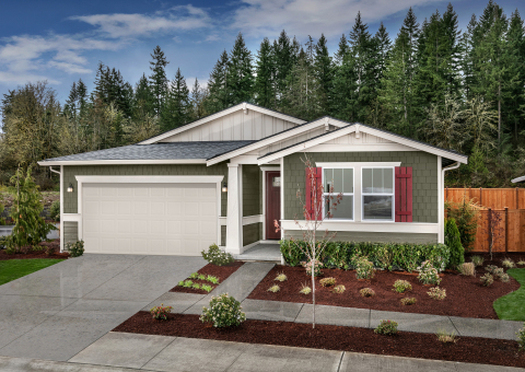 New KB homes now available in the Seattle-area. (Photo: Business Wire)