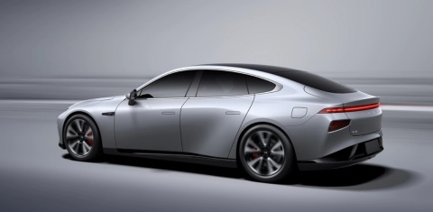 Xpeng P7 intelligent EV coupe (Photo: Business Wire)