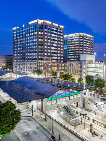 Columbia Property Trust (NYSE:CXP) has completed the sale of Lindbergh Center, a 1.1 million-square-foot mixed-use property in Atlanta, for a gross sales price $187 million. (Photo: Business Wire)