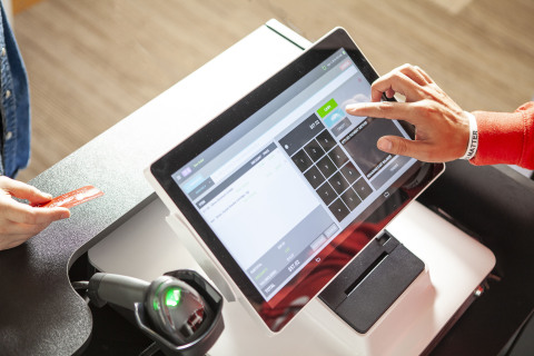 The POSaBIT all-in-one point of sale. (Photo: Business Wire)