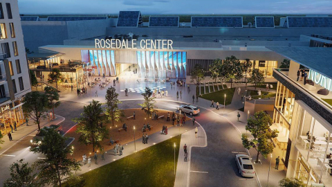 Rosedale Center is planning a significant redevelopment (Photo: Business Wire)