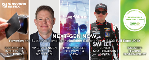 NEXT-GEN NOW Powering the Sustainable Intelligent Building Experience at BICSI Fall Expo 2019 (Photo: Business Wire)