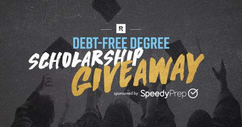Debt-Free Degree Scholarship Giveaway (sponsored by SpeedyPrep): $10,000 in scholarships will be given to eligible ninth through 12th grade students. Giveaway begins at noon CT, Sept. 30 and ends Oct. 31. High school students can enter at Anthonyoneal.com/giveaway (Graphic: Business Wire)
