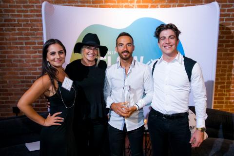 Jamie Gallagher, Hannah Shneidenbach, Chase Ramey, Louie Romagnoli, Organifi (Photo: Business Wire)