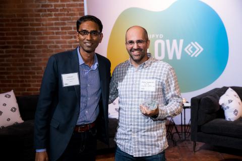 Vid Sukumar, Signifyd; Adam Levenson, Digital Operative (Photo: Business Wire)