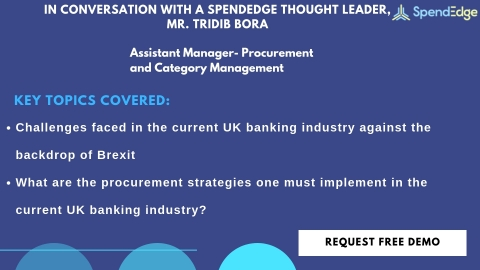 Q&A article on the procurement best practices for the UK banking industry against the backdrop of Brexit (Graphic: Business Wire)