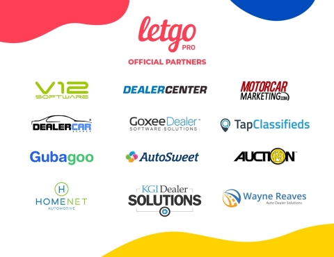 letgo, which makes it simple for millions to buy and sell locally, announced the addition of 12 auto inventory, marketing and live chat partners to its letgo PRO platform.