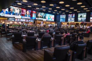 Just in time for Monday Night Football, the all new state-of-the-art BetRivers Sportsbook is now open at Rivers Casino Pittsburgh. (Photo: Business Wire)