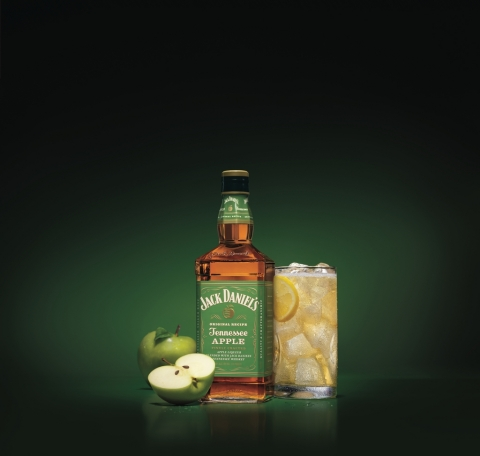 Introducing the newest member of the Jack Daniel's family: Jack Daniel's Tennessee Apple, a blend of Jack Daniel's Tennessee Whiskey with finely crafted apple liqueur. (Photo: Business Wire)