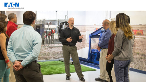Eaton targets power industry skills gap with investments in education, training and industry programs for current, next-gen workforce. Image courtesy of Eaton.