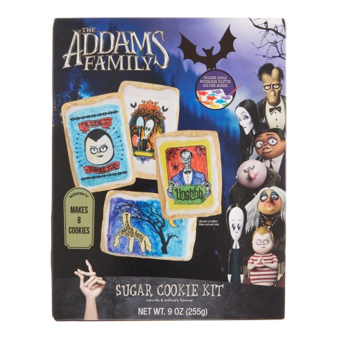 Cost Plus World Market's Animated Addams Family Sugar Cookie Kit, $7.99 (Photo: Business Wire)