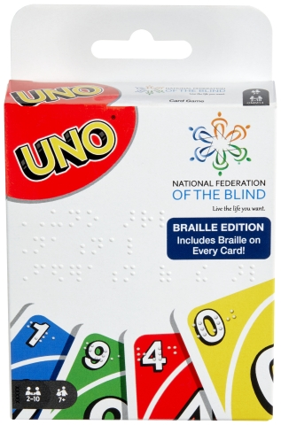 UNO® Introduces First Official Braille Deck (Photo: Business Wire)