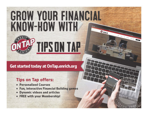Tips on Tap powered by Enrich. (Photo: Business Wire)