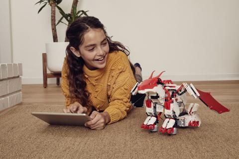 JIMU Robot Mythical Series: FireBot Kit (Photo: Business Wire)