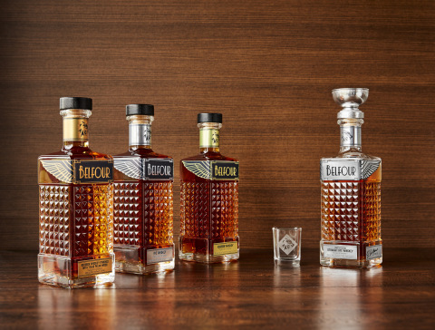 Belfour Spirits proudly announces the launch of its ultra-premium whiskey brand and family of products, The Spirit of Champions™. (Photo: Business Wire)