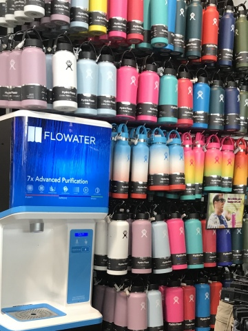 FloWater Refill Station in an O'Neill Retail Store (Photo: Business Wire)