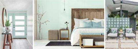 """Dunn-Edwards 2020 Color of the Year """"Minty Fresh"""" (Photo: Business Wire)"""