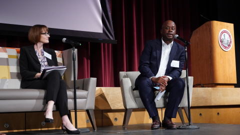 In September, Abbie Totten, Health Net Medi-Cal Program Officer, joined the Innovative Connections to Care panel at the Restoring Healthcare, Restoring Community Summit hosted by the Butte-Glenn Medical Society. The panel, which included local and statewide officials and healthcare providers, discussed efforts underway to re-establish the healthcare infrastructure in Butte County after the Camp Fires. (Photo: Business Wire)