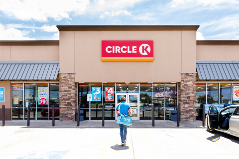 Circle K Launches On-Demand Delivery Across Texas via Favor (Photo: Business Wire)