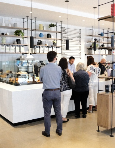 For Five Coffee has opened several locations recently including this one in the Financial District.