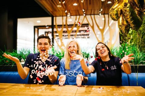 Cisco has been named the new No.1 company on the 2019 list of the World's Best Workplaces by Great Place to Work. (Photo: Business Wire)