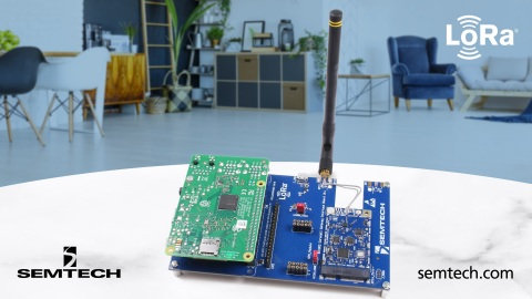 LoRa Corecell reference design for indoor gateways (Photo: Business Wire)