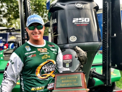 Yamaha/Skeeter Pro Scott Canterbury is the 2019 Toyota® Bassmaster® Angler of the Year. (Photo: Business Wire)