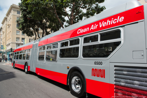 ChargePoint and the San Francisco Municipal Transportation Agency Partner to Bring the First Electric Buses to the City Beginning in 2020. (Photo: Business Wire)