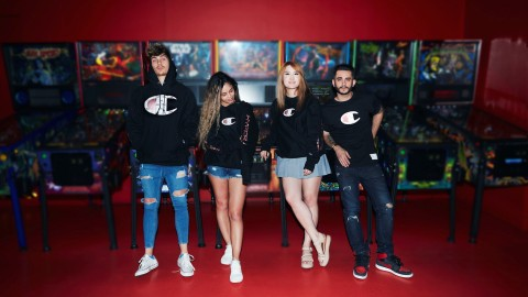 HyperX teams up with Champion® Athleticwear to launch gaming-inspired capsule collection.(Photo: Business Wire)