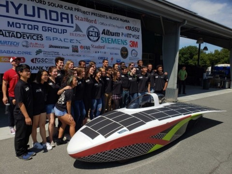 The 2019 Stanford Solar Car (Photo: Business Wire)