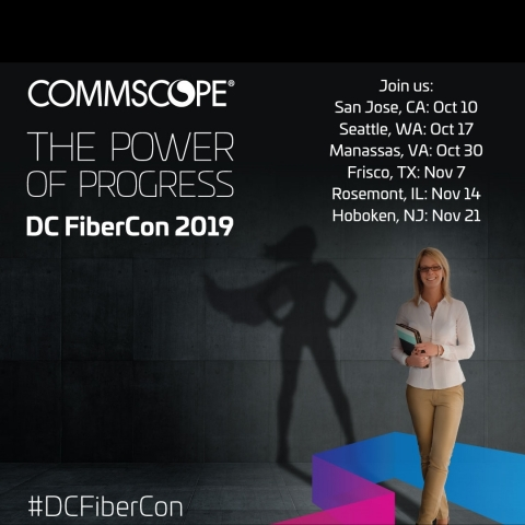 CommScope, a global leader in infrastructure solutions for communications networks, will host a six-city tour to educate data center professionals on how 5G, next-generation speeds, new physical layer topologies and other trends are transforming the data center industry. (Photo: Business Wire)