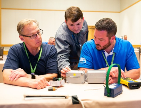 During the Sensus Reach Conference, attendees can join hands-on learning labs for smart water, gas and electric solutions. (Photo: Business Wire)