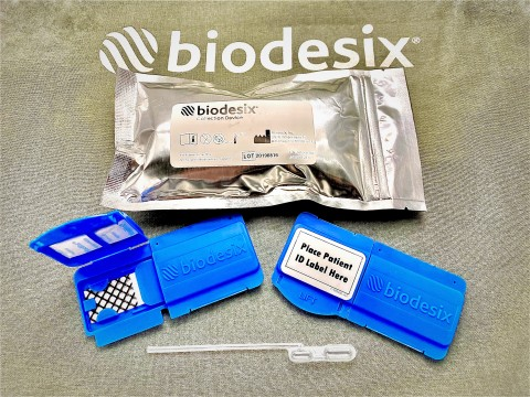 The Biodesix Collection Device (Photo: Business Wire)