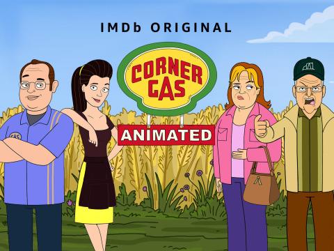 Corner Gas Animated key art (Photo: Business Wire)