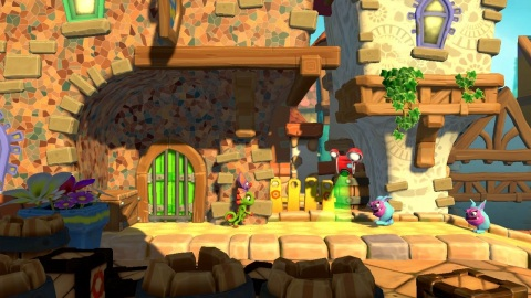 The Yooka-Laylee and the Impossible Lair game will be available on Oct. 8. (Photo: Business Wire)