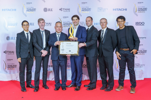 [LEFT to RIGHT] Mr. Puthipong Wanabut, Mr. Rafael Revuelta, Mr. Colin Yap, Mr. Andrew McGregor, Mr. Yaron Jacobs, Mr. Henri Young, and Mr. Koochart Kunjara Na Ayuttaya (Photo: Business Wire)