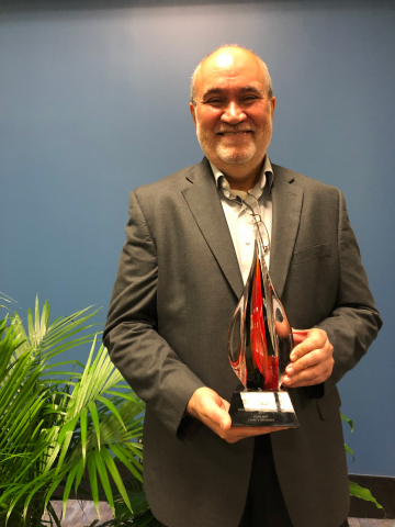 BlueCrest receives Red Hot Vanguard Award at Print 19 in Chicago, IL. (Photo: Business Wire)