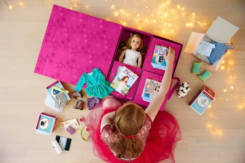 American Girl's brand-new Gift Box Experience takes customization to the next level. (Photo: Business Wire)