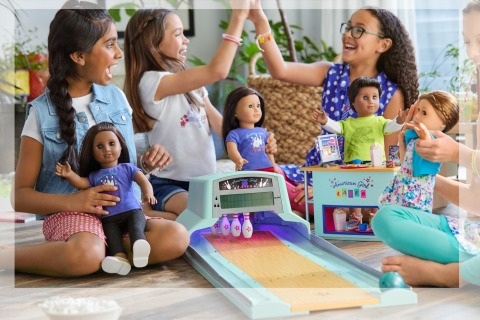 The American Girl Bowling Alley, a Parents' 2019 Best Toys winner, provides hours of pretend play. (Photo: Business Wire)