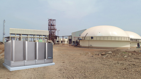 Rendering of Bloom Energy and EnergyPower biogas project in New Delhi, India (Photo: Business Wire)