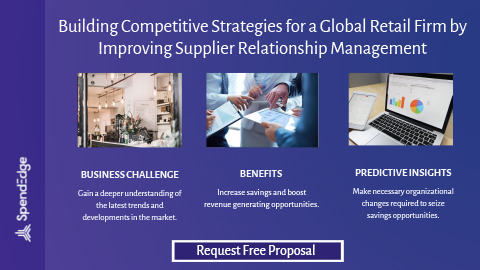 Building Competitive Strategies for a Global Retail Firm by Improving Supplier Relationship Management.