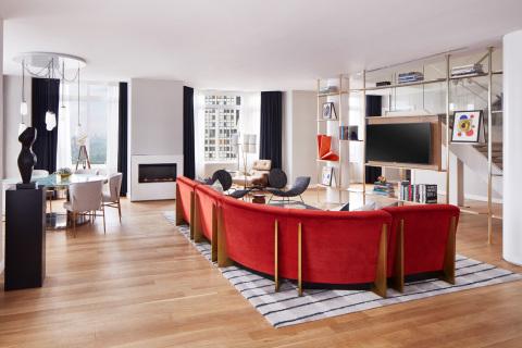 54階のペントハウス(写真:コンラッド・ニューヨーク・ミッドタウン)