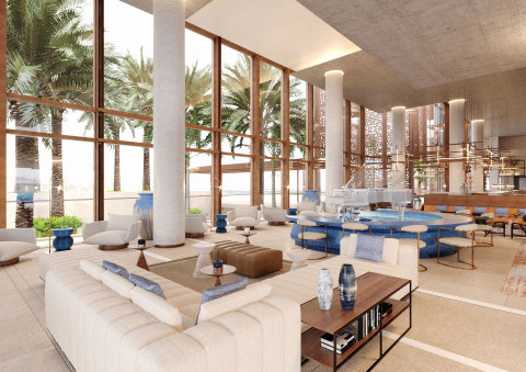Lobby lounge inside Hyatt Regency Cairo West. (Photo: Business Wire)