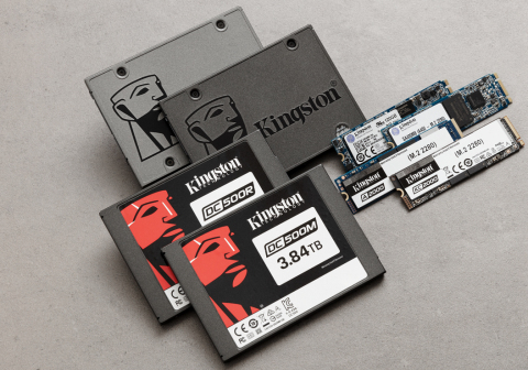 Kingston family of SSDs (Photo: Business Wire)