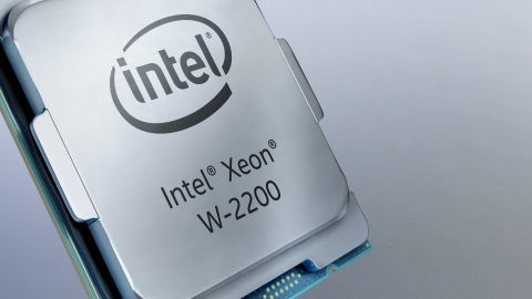 Intel introduces the Intel Xeon W-2200 platform in October 2019. Eight new processors deliver outstanding performance and expanded platform capabilities for data science, visual effects, 3D rendering, complex 3D CAD, artificial intelligence development and edge deployments. (Credit: Intel Corporation)
