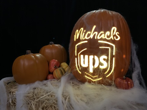 No Tricks. Just treats...and Convenience. Michaels Customers Can Now Pick Up and Drop Off Packages In Store via UPS Access Point® Locations. (Photo: Business Wire)