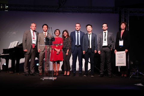 Pechoin Given the Young Scientist Prize at the 25th IFSCC Conference Held in Milan (Photo: Business Wire)