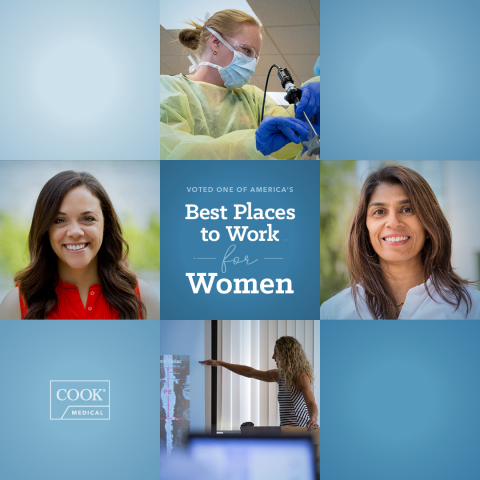 Cook Medical Named One of America's Best Employers for Women by Forbes (Graphic: Business Wire)